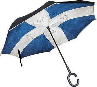 scottish flag umbrella
