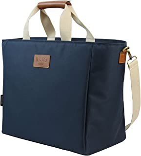 INNO STAGE 40L Picnic Cooler Bag Insulated Tote Outdoor Camp Navy Blue