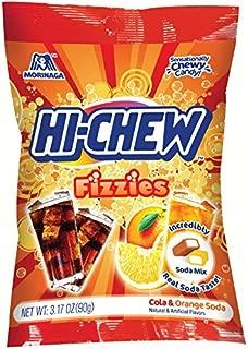 Hi-Chew Fizzies Mix, Cola & Orange Soda, 3.17 Ounce