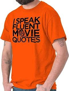 man in an orange shirt streaming