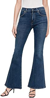 Chloe Mid-Rise Super Flare Jeans with Sculpt in Devotion
