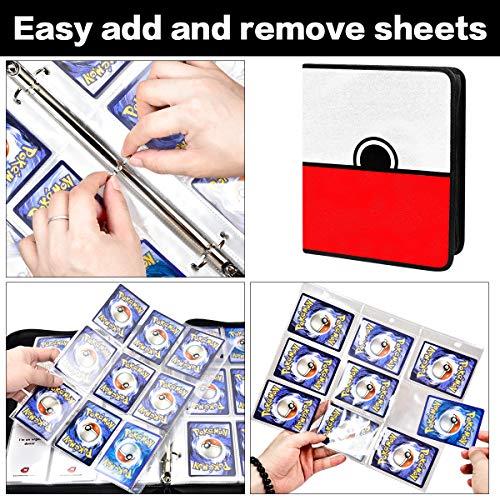 Card Binder for PM Cards Sleeves Holder Album, 400 Pockets ...