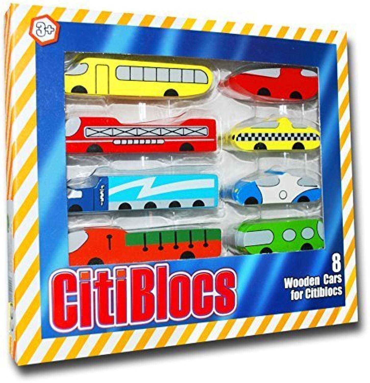 CitiBlocs Citi Cars Set by CitiBlocs