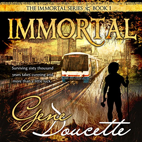 Immortal audiobook cover art