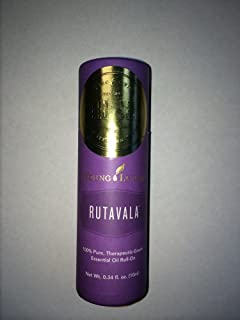 Young Living RutaVala Ruta Vala Roll on Blend 10 ML 100 % Therapeutic Grade Essential Oil Supplement