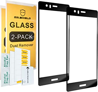 [2-Pack]-Mr.Shield for Huawei P9 [Tempered Glass] [Full Cover] Screen Protector with Lifetime Replacement