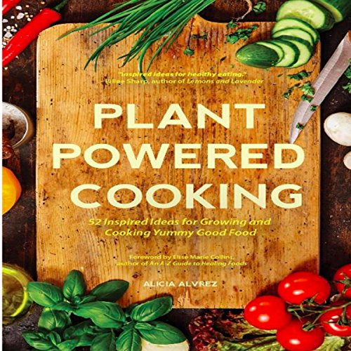 Plant-Powered Cooking audiobook cover art