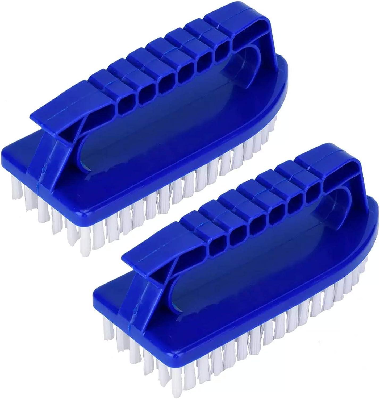 Cepillo de Limpieza de Piscinas de Calidad Práctico Cepillo para Piscinas Piscina Cepillo de Limpieza por Cepillo Cepillo de Limpieza de Piscinas Multifuncional Adecuado para Cocina de Baño 2 Piezas
