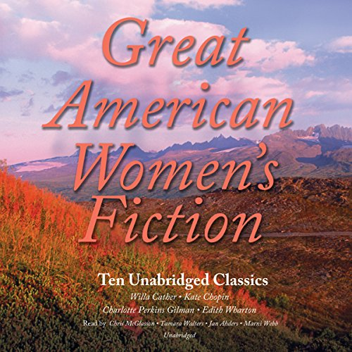 Great American Women's Fiction audiobook cover art