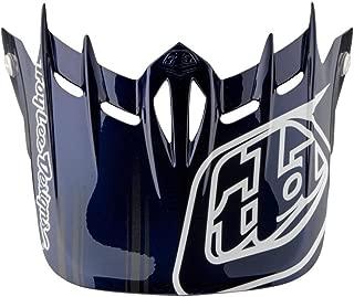 Troy Lee Designs Adult D2 Visor Fusion BMX Helmet Accessories - Blue/One Size
