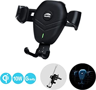 Wireless Car Charger,Wislist 10W Qi Fast Charging Car Mount Gravity Auto-Clamping,Air Vent Phone Holder for iPhone 11 Pro Max Xs MAX XS XR X 8P, Samsung S10+ S9+ S8 Note 9, etc
