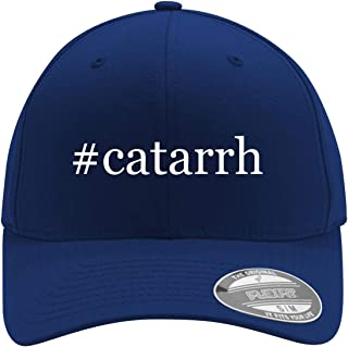 #catarrh - Adult Men's Hashtag Flexfit Baseball Hat Cap