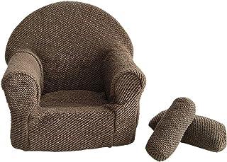 Hanshin Sofá para bebé, silla posing, asiento para fotografía, accesorio para fotografía de recién nacidos, accesorios para fotografía con cojín