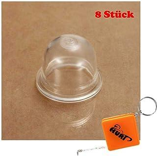 HURI 8x Primer Pumpe Primerkolben Zündkapsel für ZAMA 0057003 0057004 C1Q C1S C1U Vergaser