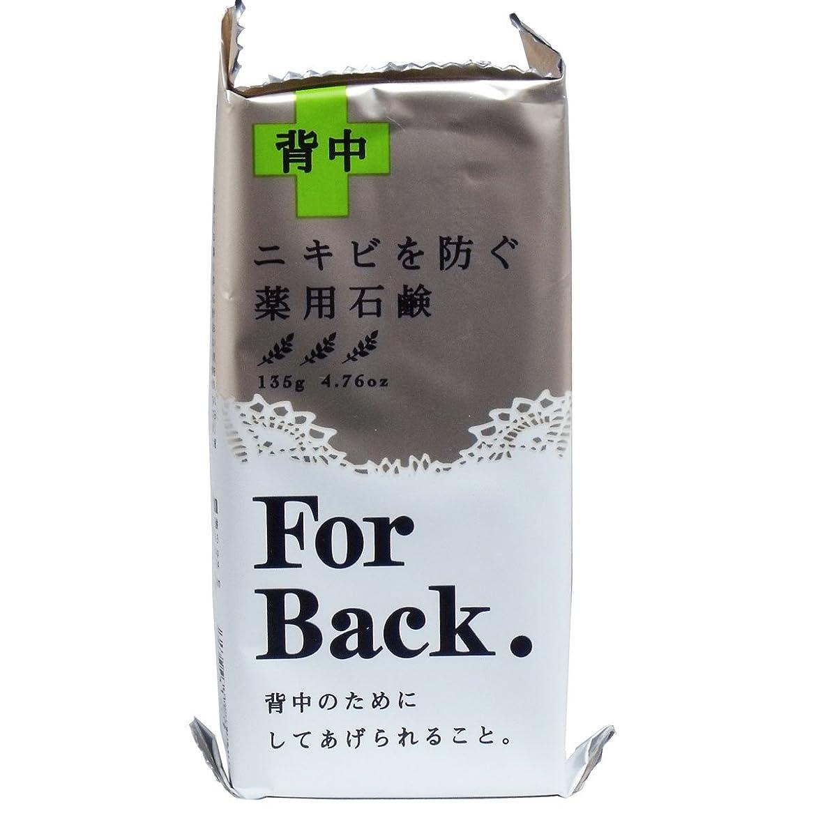 計算する絶滅した郵便物薬用石鹸ForBack 135g ×2セット