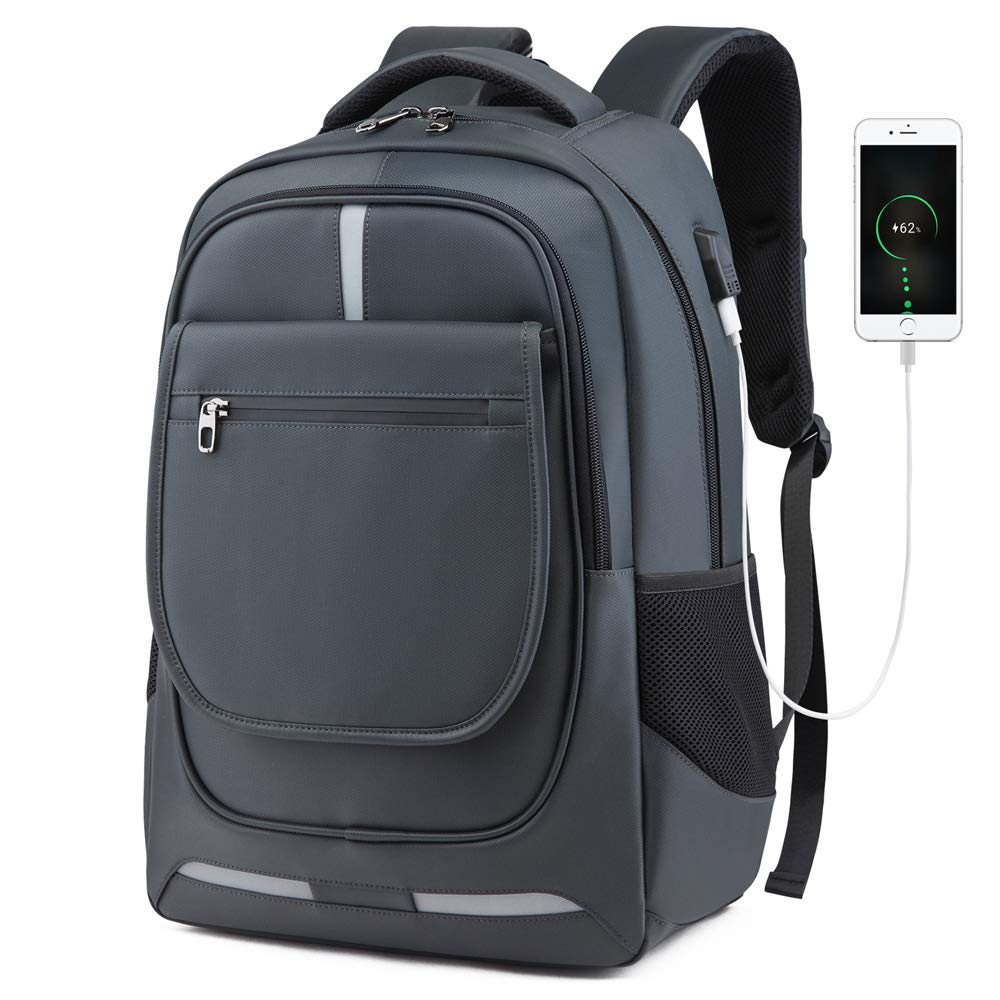 Women Backpack Travel Water Resistant School Backpack with USB Charging Ports