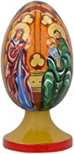 BestPysanky The Holy Family Icon Wooden Figurine 4.75 Inches