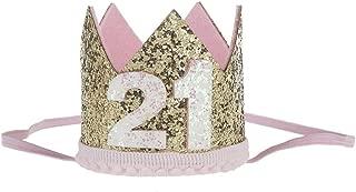 21st birthday headwear