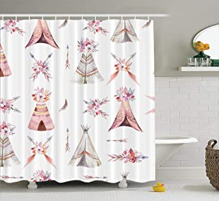 f4ddc79b0b Amazon.com: Purple - Shower Curtains, Hooks & Liners / Bathroom ...