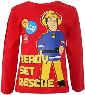 Sam il pompiere basecaps Berretto Cappy per Ragazze e Ragazzi Regolabile con Velcro in Azzuro//Blu//Blu Scuro per i Bambini