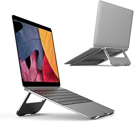 dedea1ffecb Laptop Stand CORALONE Aluminum Ventilated Stand Compatible with MacBook