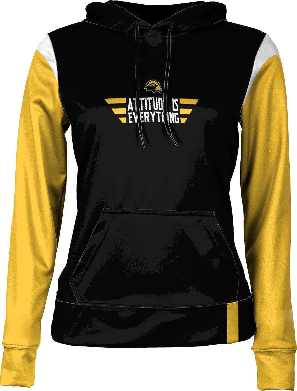 University of Southern Mississippi Attitude is Everything Girls' Pullover Hoodie, School Spirit Sweatshirt (Tailgate)