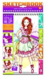 Style Me Up - Fashion Design Coloring Sketch Book for Girls and Boys. Great Present/Gift - Sticker Book with...