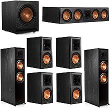 Klipsch 7.1.2 System - 2 RP-8060FA Dolby Atmos Speakers, 1 RP-504C, 4 RP-600M Speakers, 1 SPL-100
