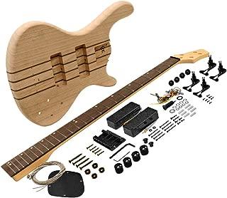 Seismic Audio - SADIYG-20 - Premium Professional Style Bass Electric DIY Guitar Kit