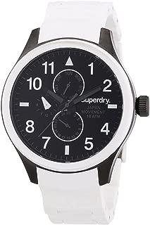 Reloj superdry Scuba multf.Blanco Mens Analog Japanese Quartz Watch with Silicone Bracelet SYG110W