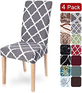 SearchI Dining Room Chair Covers Slipcovers Set of 4,...