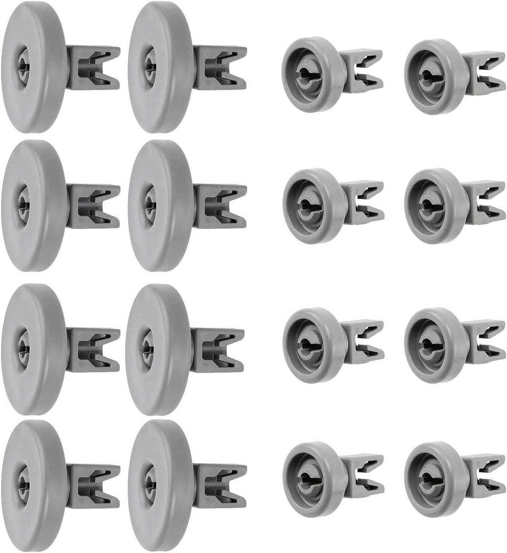 8 cestas superiores y 8 cestas inferiores compatibles con AEG Favorit Privileg Renlig DW60 Electrolux Juno Zanussi Progress PV3570 PV1530 PV1535 PV1540 lavavajillas