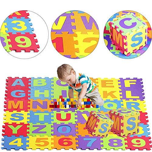 Jueyan® 36 Piezas Alfombras Infantil Alfombras Puzzle