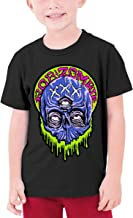 SeanDouglas Adolescent Tops Shirt Rob Zombie Sports Classic Teens Boys&Girls Tee Shirt