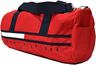 Tommy Hilfiger Big Logo Large Duffle Bag (One_Size, Red)