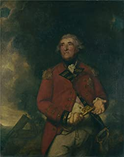 Oil Painting 'Sir Joshua Reynolds Lord Heathfield Of Gibraltar' 20 x 25 inch / 51 x 64 cm , on High Definition HD canvas prints is for Gifts And Hallway, Kitchen And Living Room Decoration