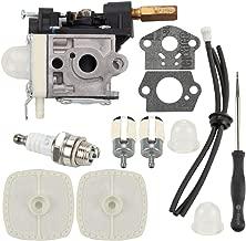 Wellsking rb k75 Carburetor for Echo GT200 GT201i HC-150 HC-150l HC-151 PE200 PE201 PPF210 PPF211 SRM210 SRM211 Trimmer Brushcutter w Air Filter Tune Up Kit