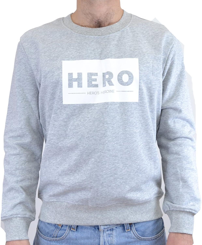 FELPA herren HERO'S HEORINE HERO LOGO SW07214 (S - grau)