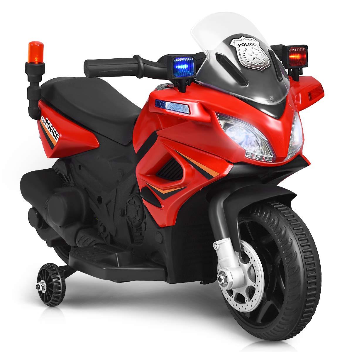Costzon Motorcycle Electric Headlights Rechargeable