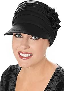 Cardani Bamboo Florette Newsboy-Cancer Headwear for Women
