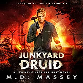Junkyard Druid audiobook cover art