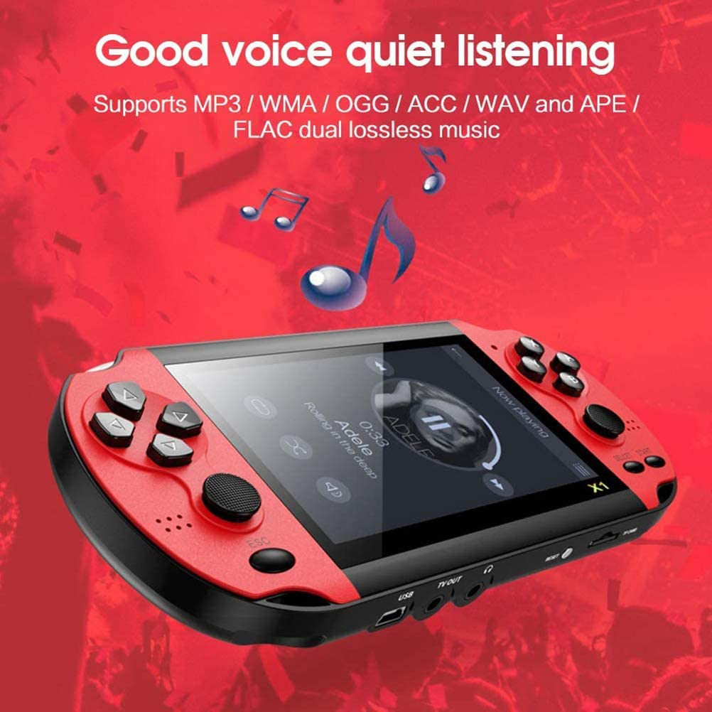 ARTOCT Handheld Video Game Console,Retro Video Games 4.3 Inch Game Console Classic Dual-Shake Game Console with Built-in 10000 Games