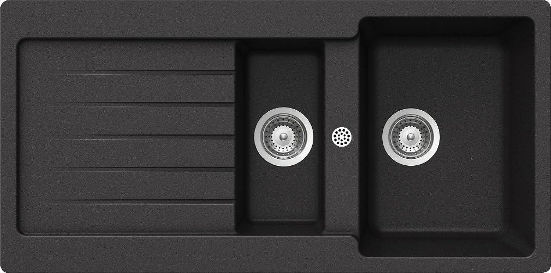 Schock Küchenspüle Typos D-150, Auflage in Onyx