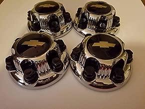 4 piece SET Chrome Chevy Silverado 6 Lug 1500 Center Caps 16