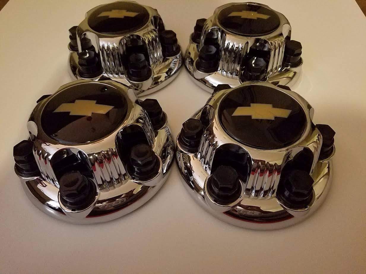 """17/"""" Chrome Wheel Skin Kit fits 2005-2013 GMC Sierra 1500 ABS 8069 4 pack"""