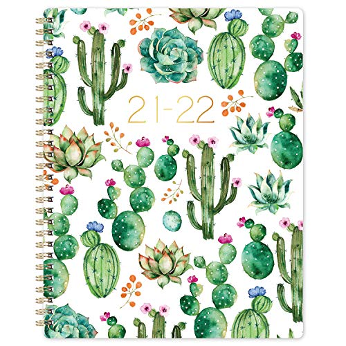 """Academic Planner 2021-2022 - Weekly Monthly Planner with Flexible Cover, 8"""" x 10"""", Jul 2021 - Jun 2022, Check Boxes as To-do List, Monthly Printed Tabs, Perfect for Home, Office Using"""