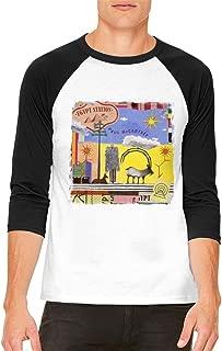 Paul McCartney Egypt Station Comfortable Men's Raglan Sleeves Baseball T-Shirt Black