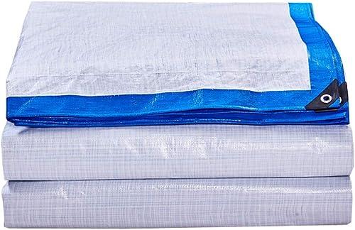 LIAN Bache de Prougeection Solaire rembourrée de bache de Prougeection Contre Le Pare-Brise de Camion en Tissu de Plastique Pare-Brise en crêpe imperméable 170g (Taille   5M10M)