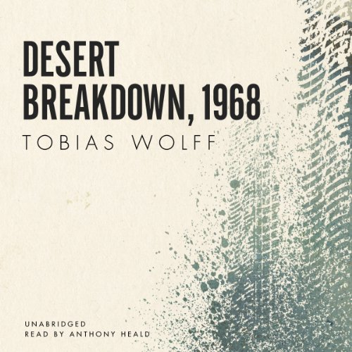 Desert Breakdown, 1968 audiobook cover art