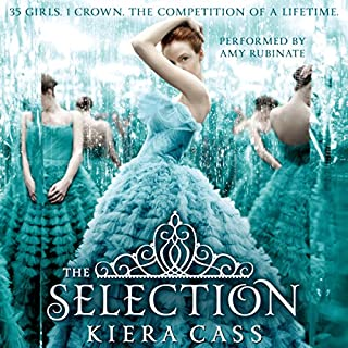 The Selection     The Selection, Book 1              By:                                                                                                                                 Kiera Cass                               Narrated by:                                                                                                                                 Amy Rubinate                      Length: 8 hrs and 7 mins     7,649 ratings     Overall 4.3